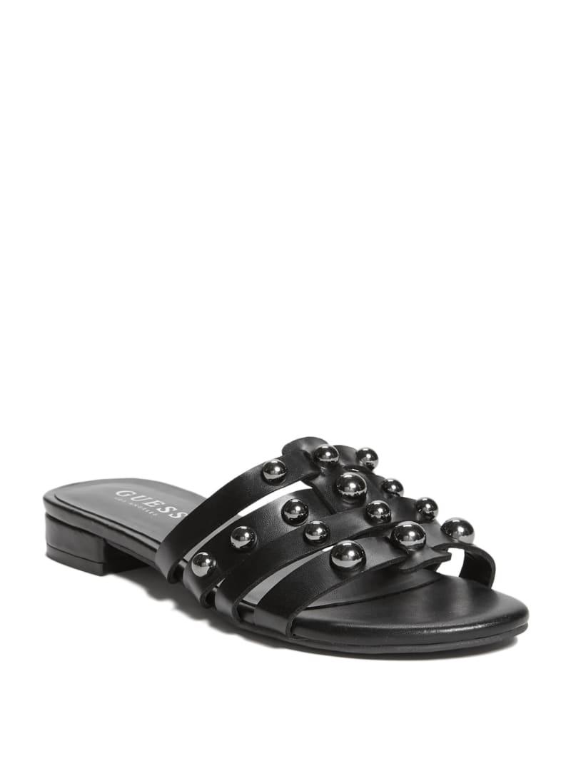Kindly Studded Slide Sandals