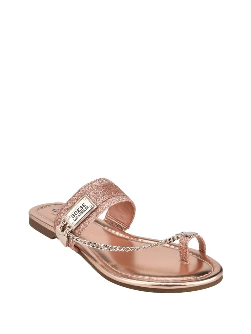 Landen Glitter Chain Sandals