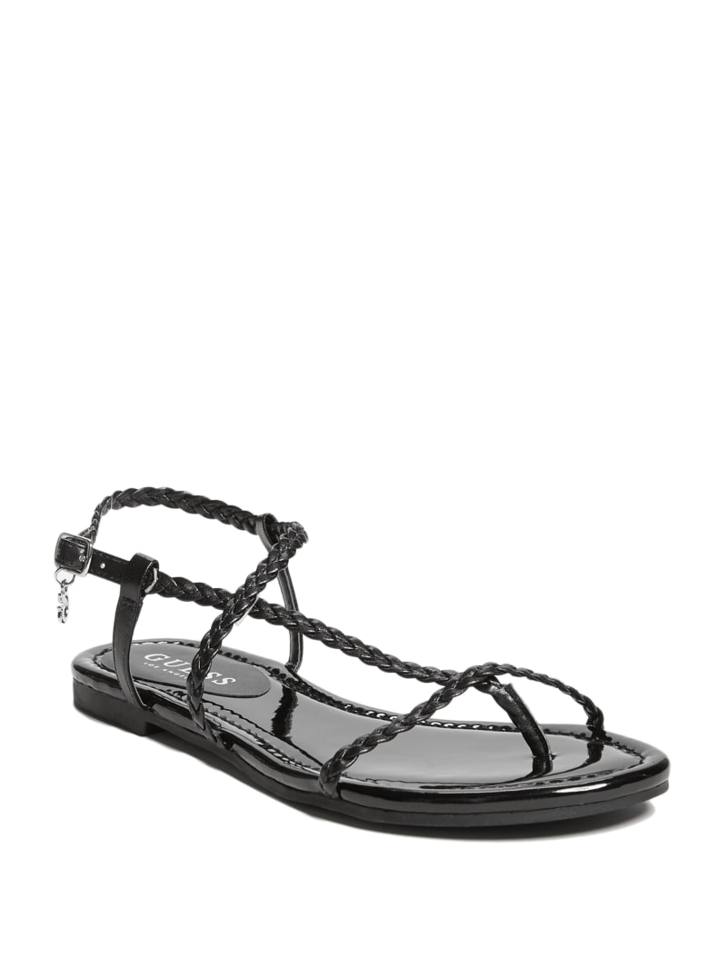 Lotie Woven Strappy Sandals