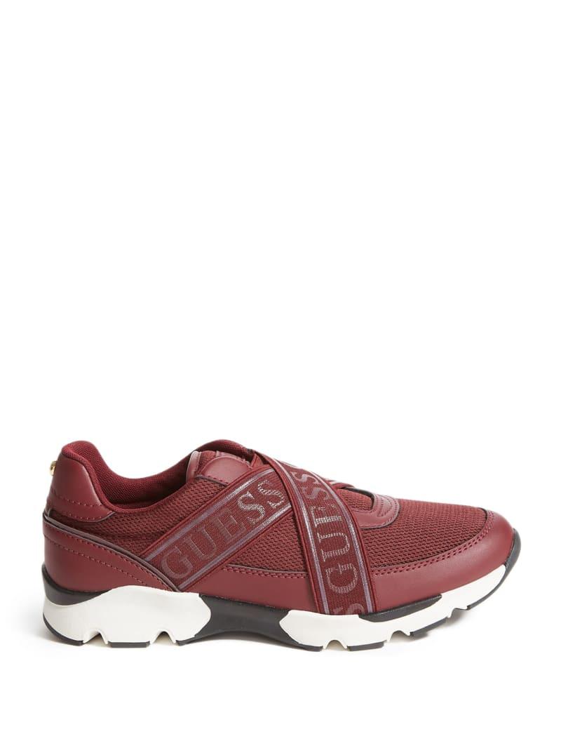 Paulin Cross Strap Sneakers