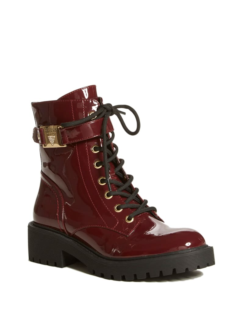 Saisies Combat Boots