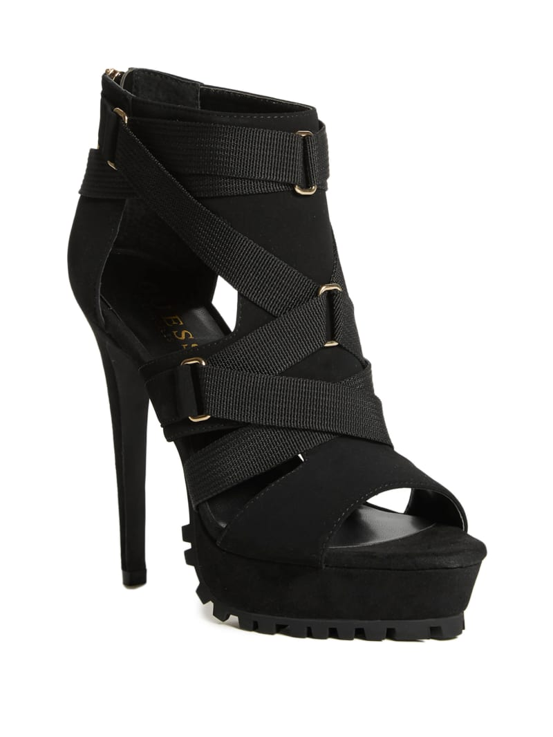 Zazzy Strappy Heels