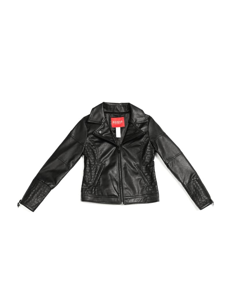 Dana Faux-Leather Moto Jacket (7-16)