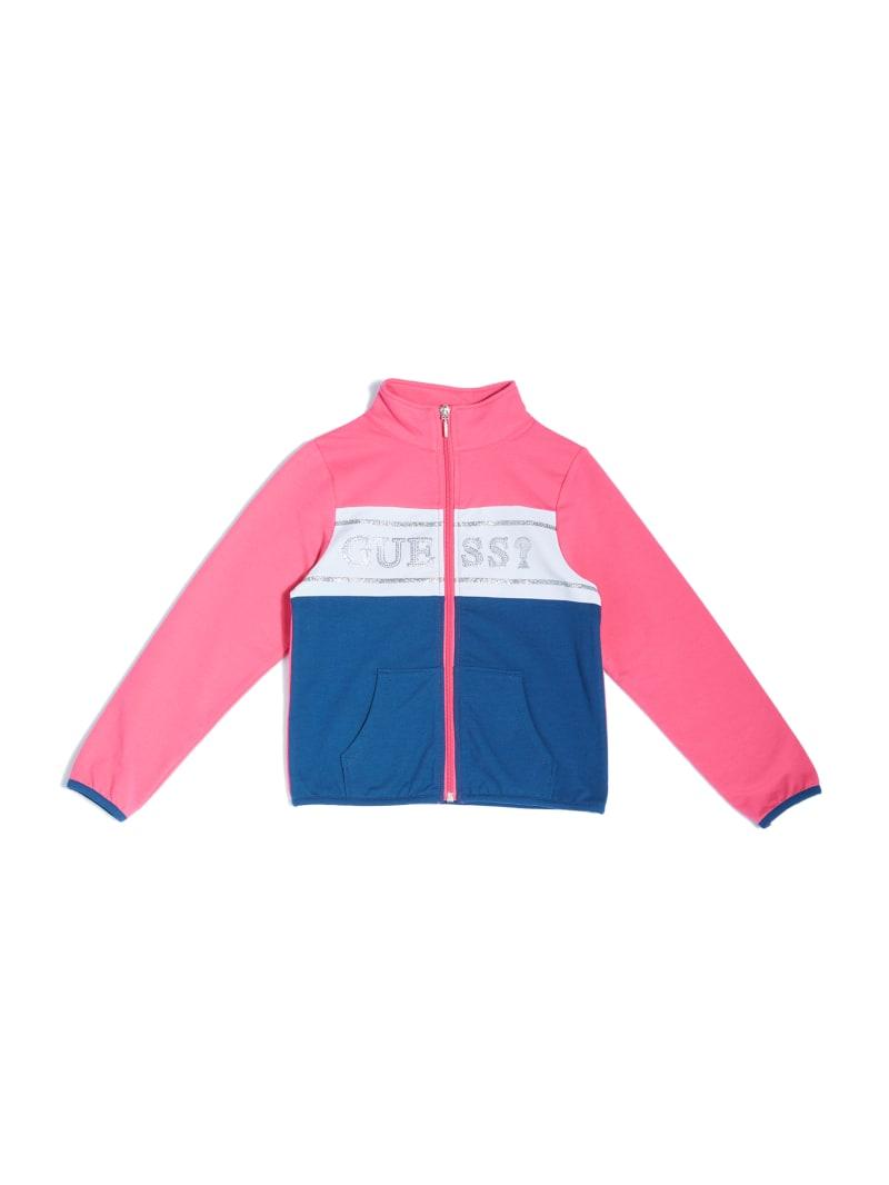 Color-Block Zip-Up Jacket (7-14)