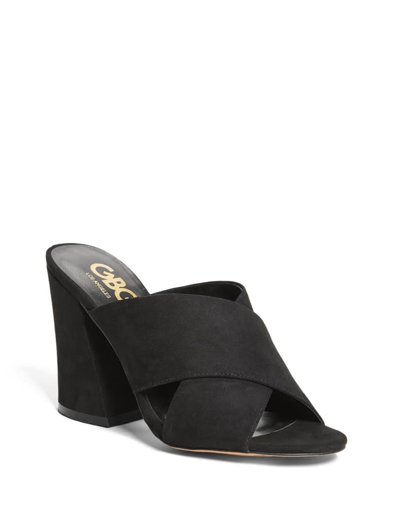 Leah Crisscross Block Heels