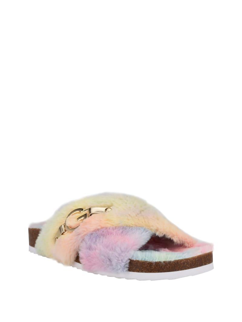 Softest Faux-Fur Sandals