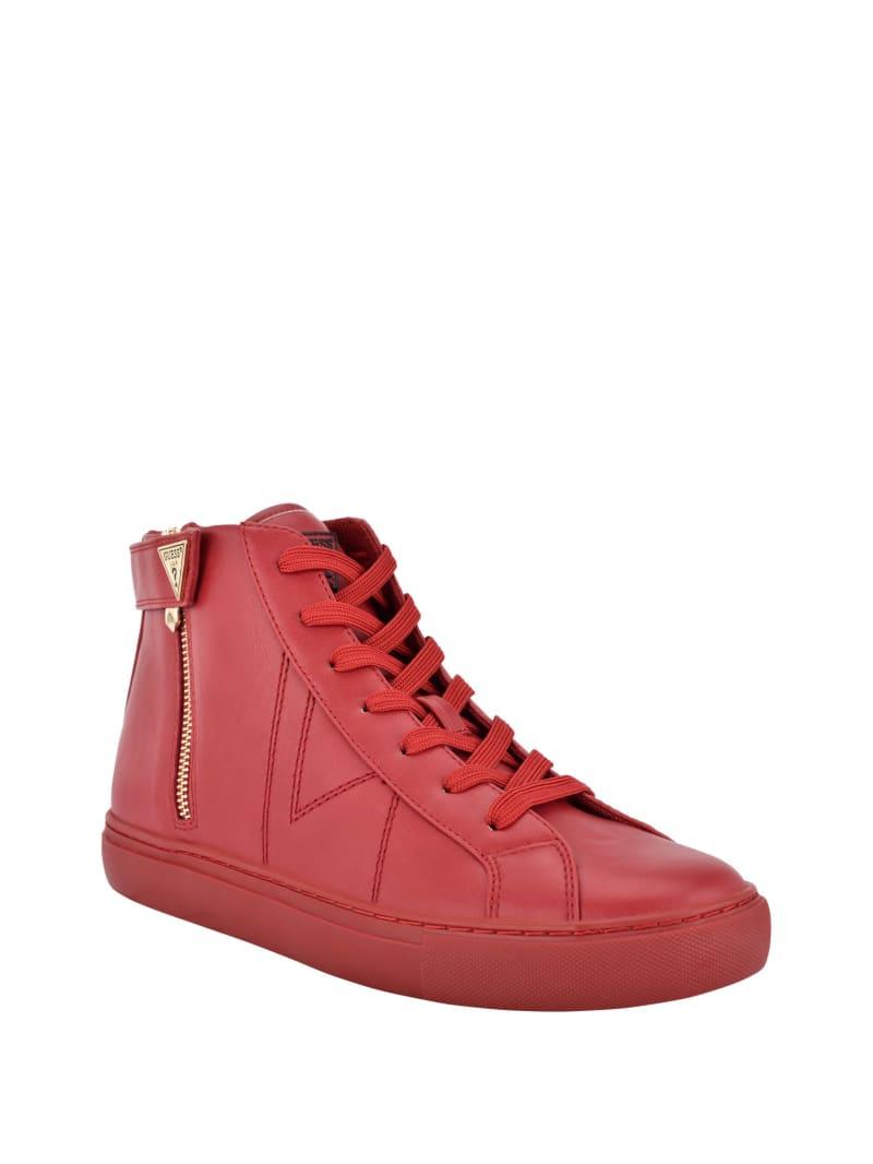 Bago High-Top Zipper Sneakers