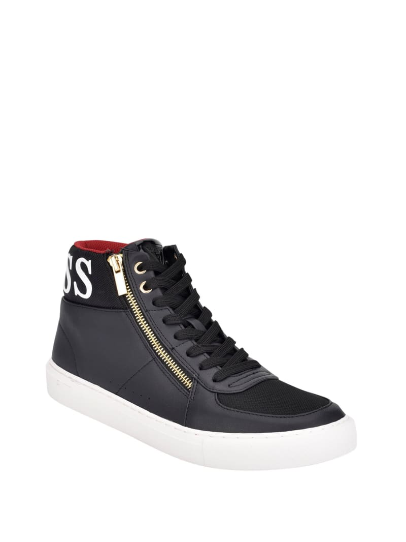 Bowler High-Top Sneakers