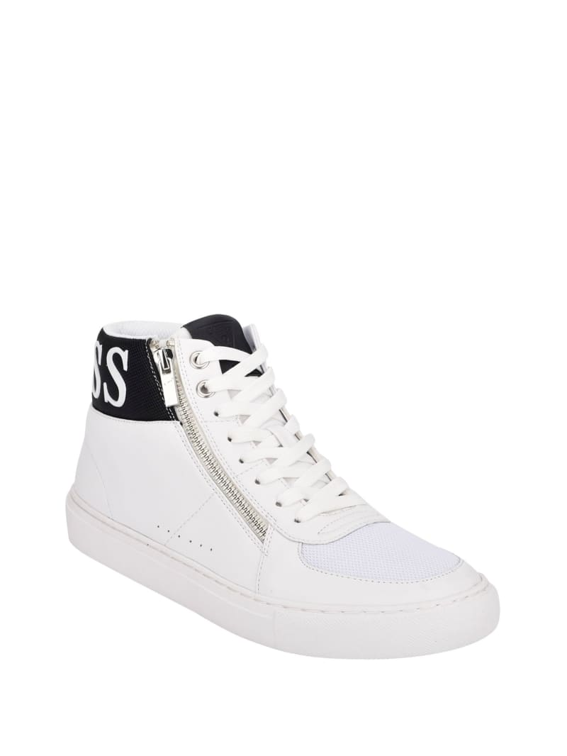 Bowler High-Top Sneakers