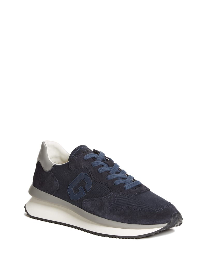 Made Faux-Suede Sneakers