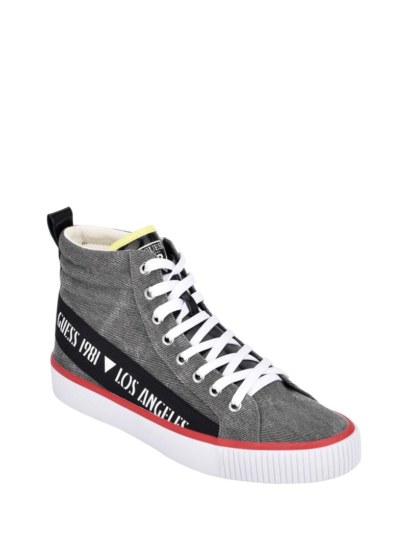 Mariner Taped High-Top Sneakers