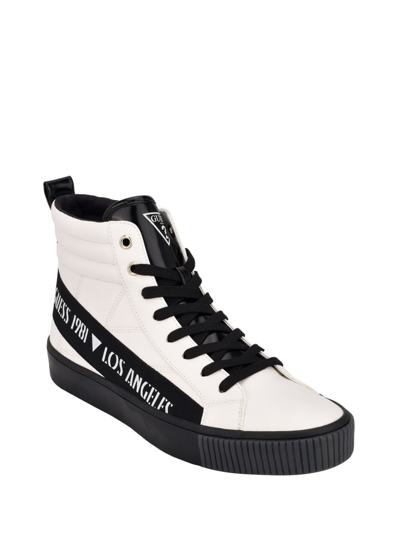 Mariner Taped High-Top Sneakers