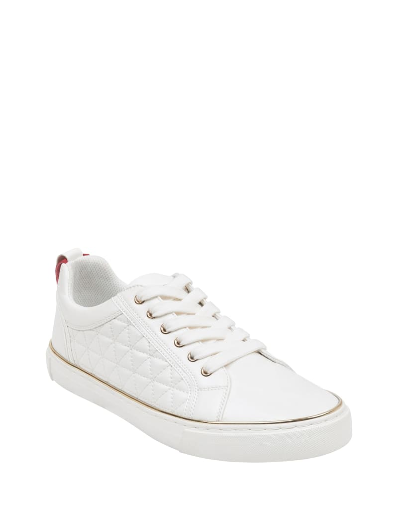 Mozer Quilted Low-Top Sneakers