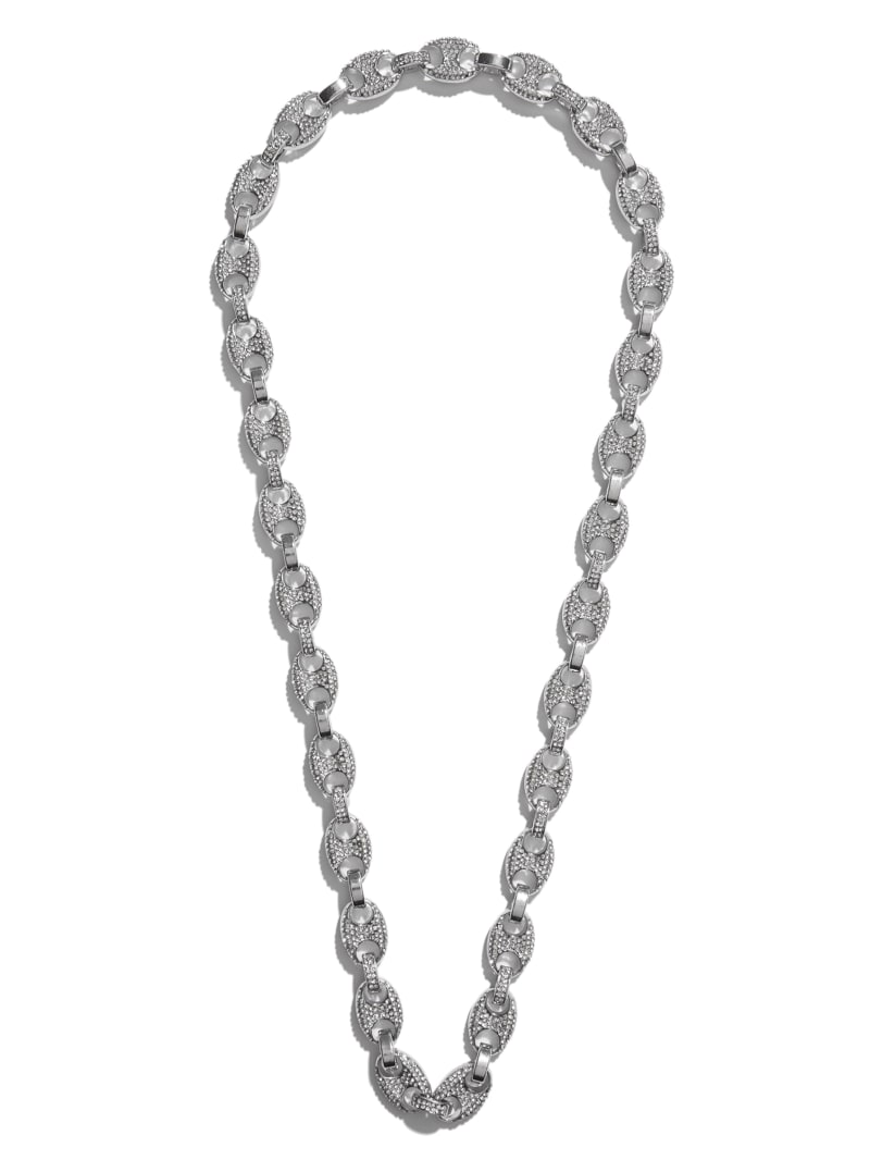Chain-Link Bling Necklace