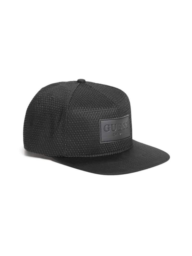 Dave Mesh Flat Brim Snapback Hat