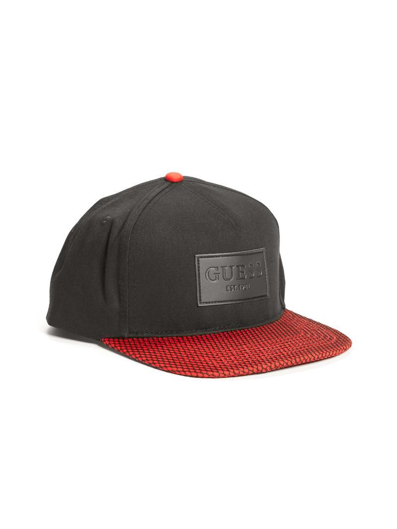 Nick Mesh Flat Brim Snapback Hat