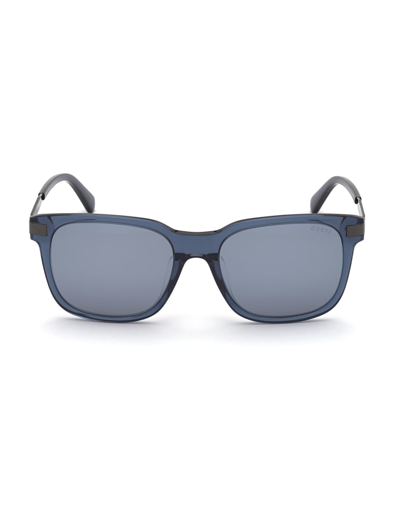 Frosted Square Sunglasses