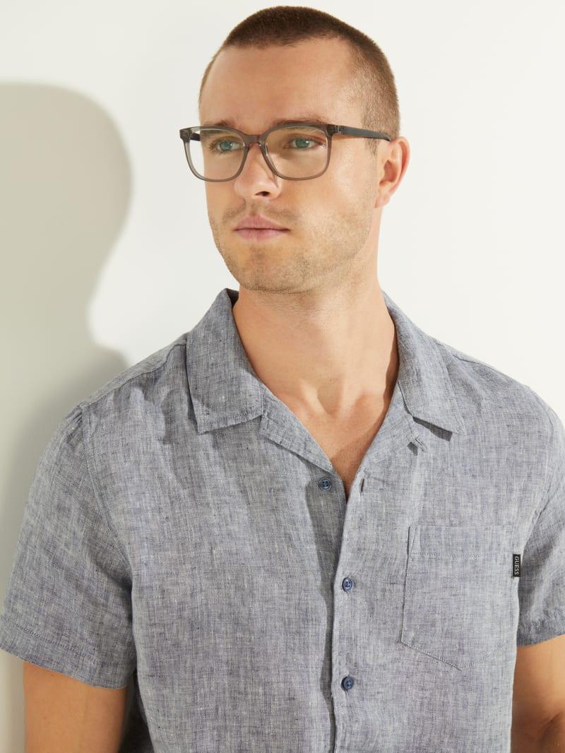 Gray Square Glasses