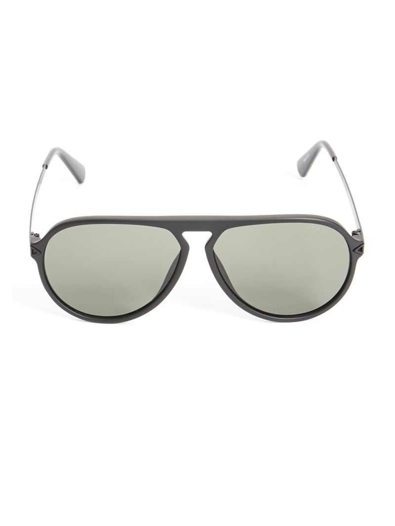 Keith Keyhole Aviator Sunglasses