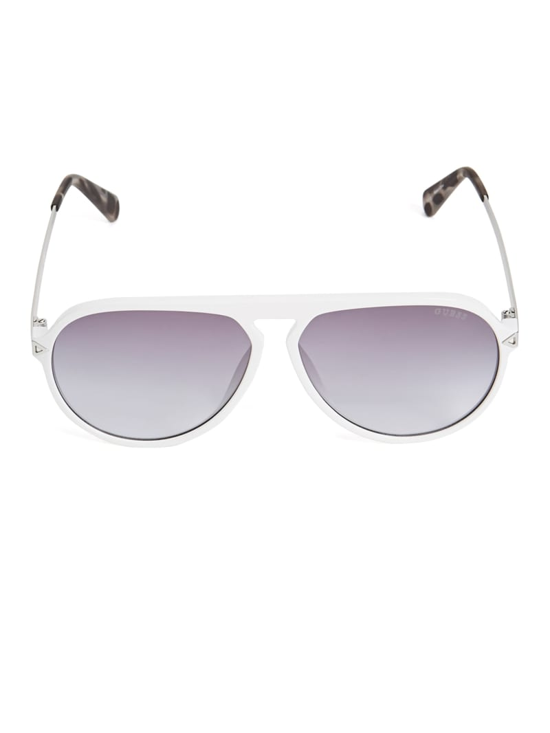 Keith Keyhole Aviator Sunglasses