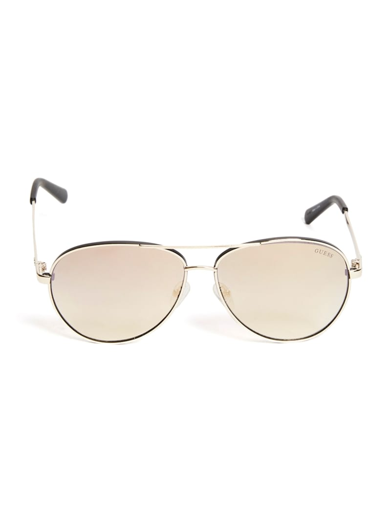 Dexter Metal Matte Aviator Sunglasses