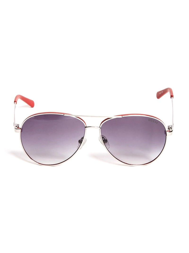 Dexter Metal Matte Aviator Sunglasses