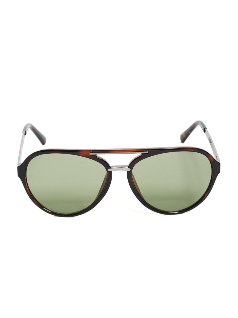 Samuel Logo Aviator Sunglasses