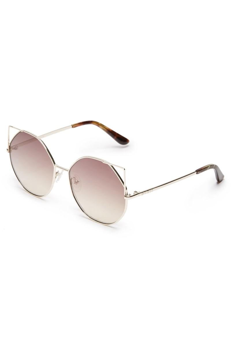 Veronica Cat Eye Flash Sunglasses