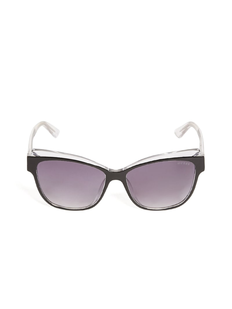 Two-Tone Tinted Sunglasses