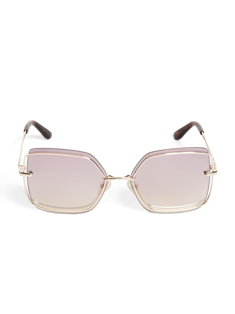 Wire Square Sunglasses