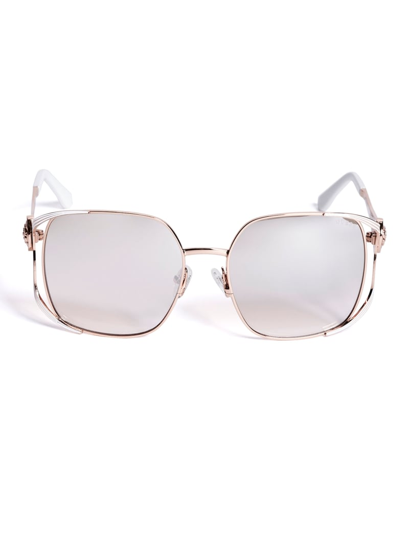Vera Square Metal Sunglasses