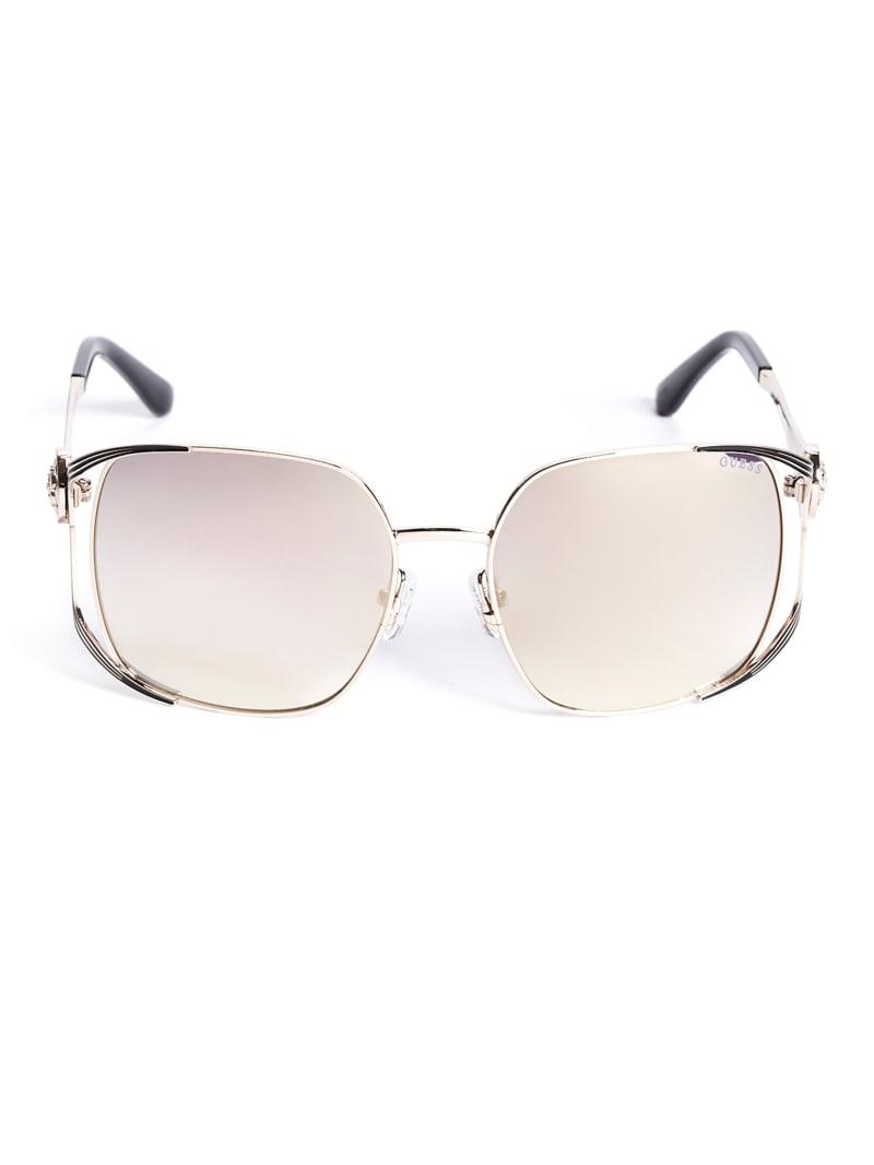 Vera Square Metal Sunglasses