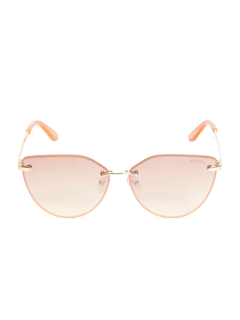 Pia Rimless Cateye Sunglasses