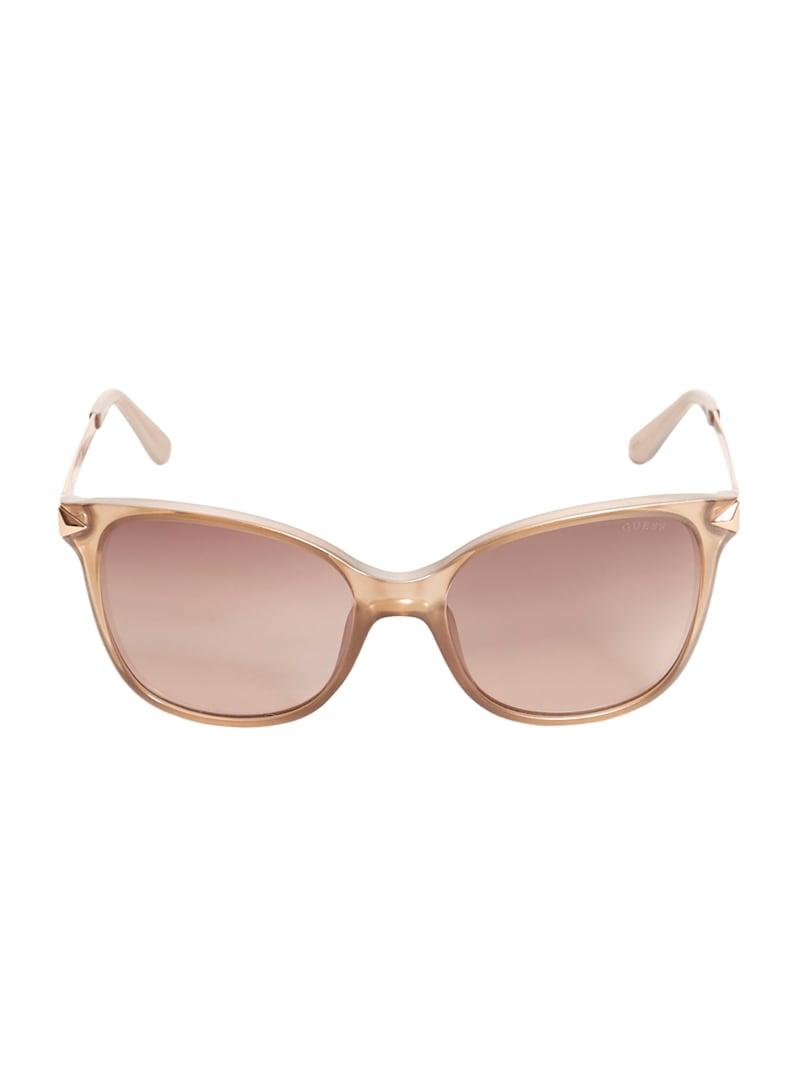Raven Plastic Square Sunglasses
