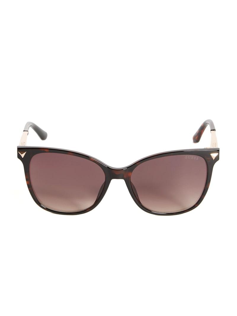Cat-Eye Oversized Studded Sunglasses