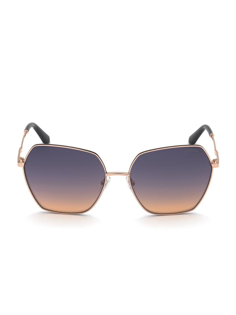 Courtney Geometric Sunglasses