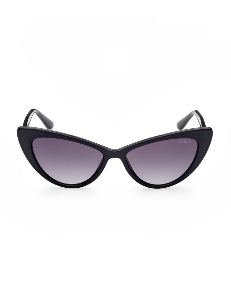 Winged Cat-Eye Sunglasses