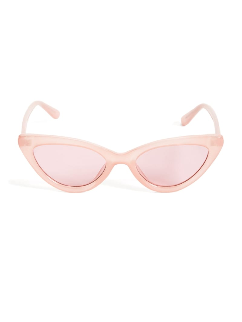 GUESS Originals Pink Cat-Eye Sunglasses
