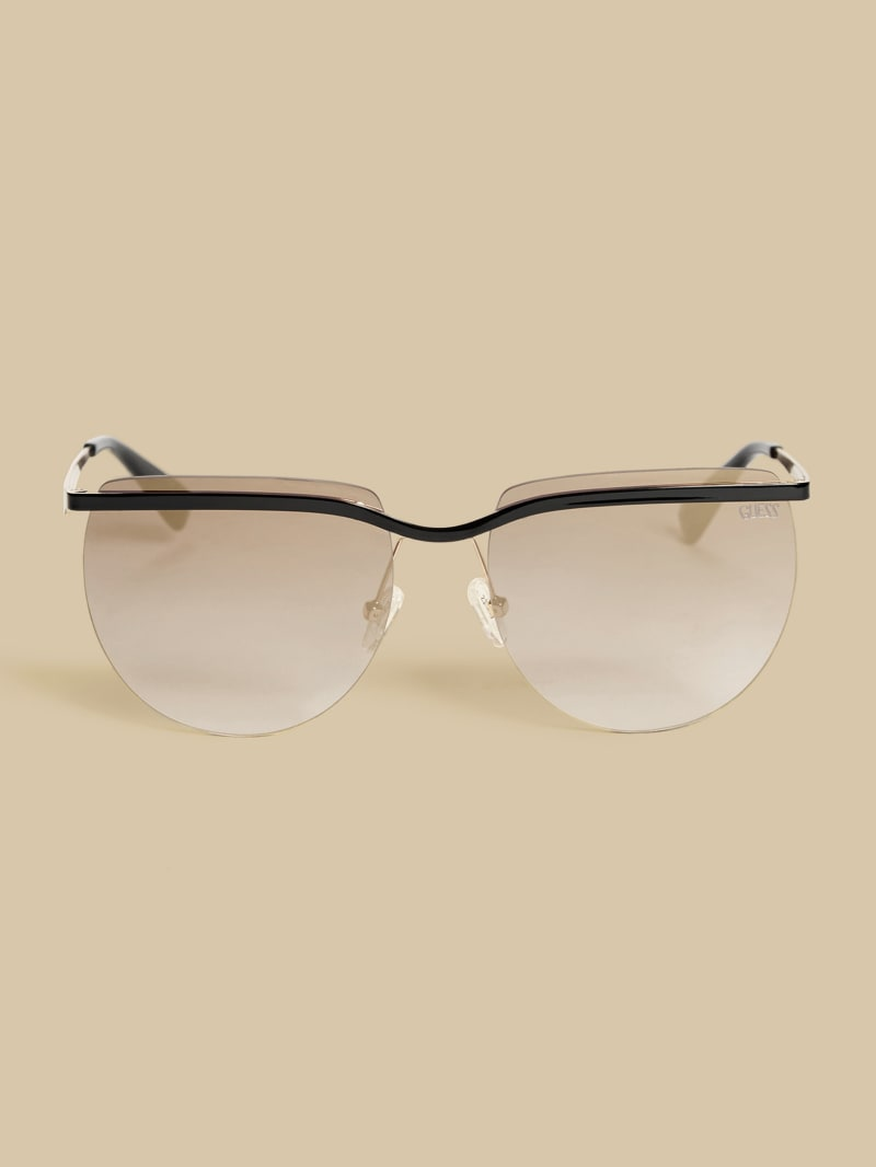 GUESS Originals Rimless Retro Sunglasses