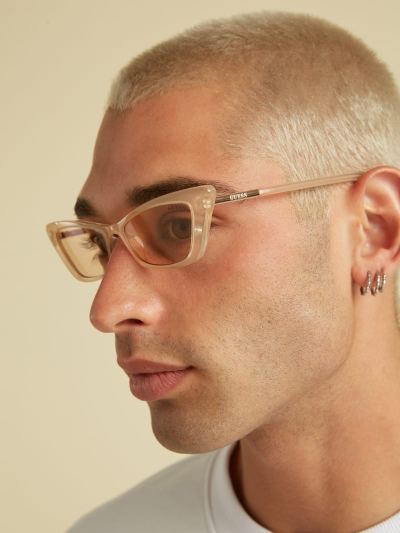 GUESS Originals Cat-Eye Sunglasses
