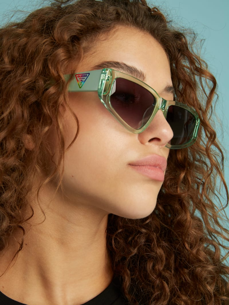 FriendsWithYou Shield Sunglasses