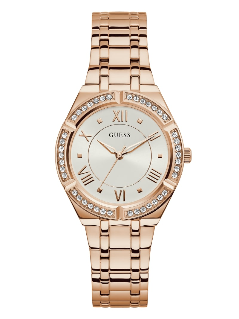 Rose Gold-Tone Analog Watch