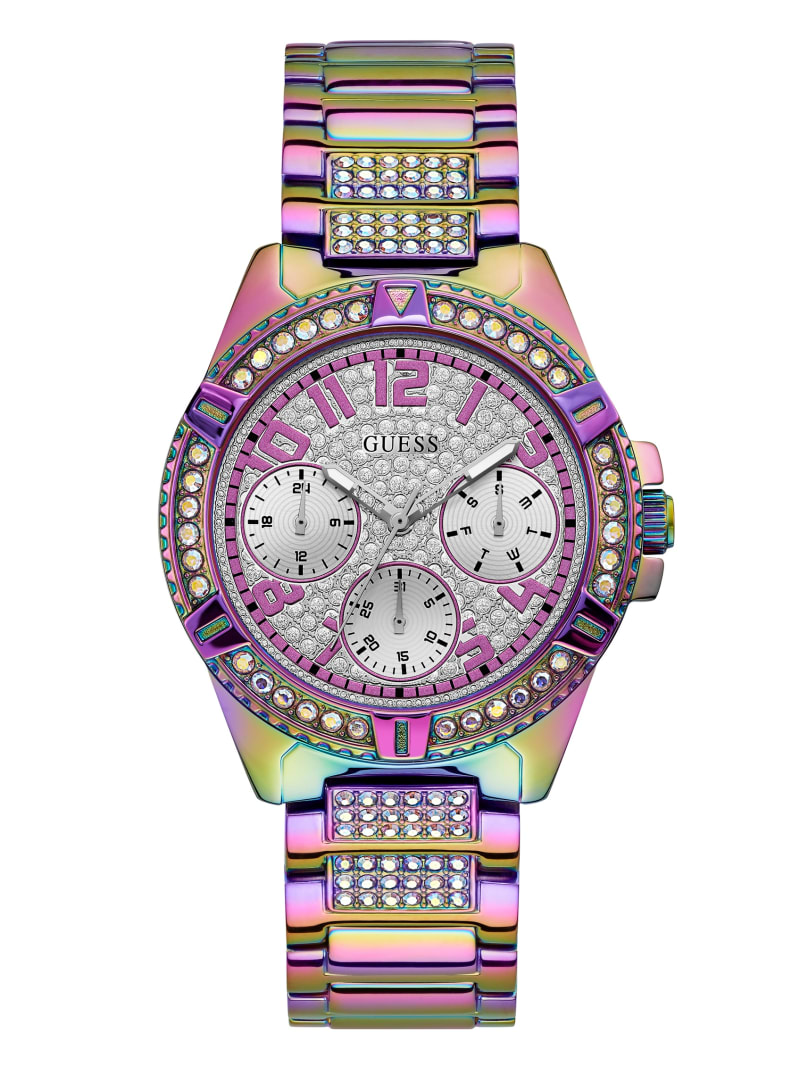 Iridescent Crystal Multifunction Watch
