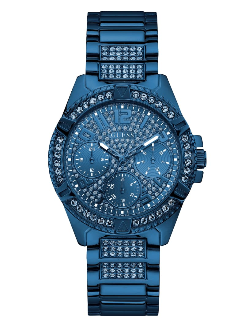 Blue Multifunction Watch