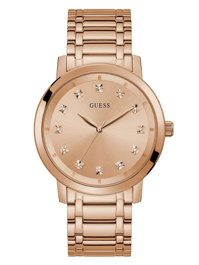 Paragon Rose Gold-Tone Analog Watch