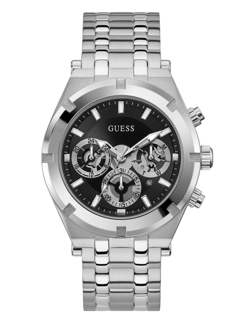 Silver-Tone Multifunction Watch