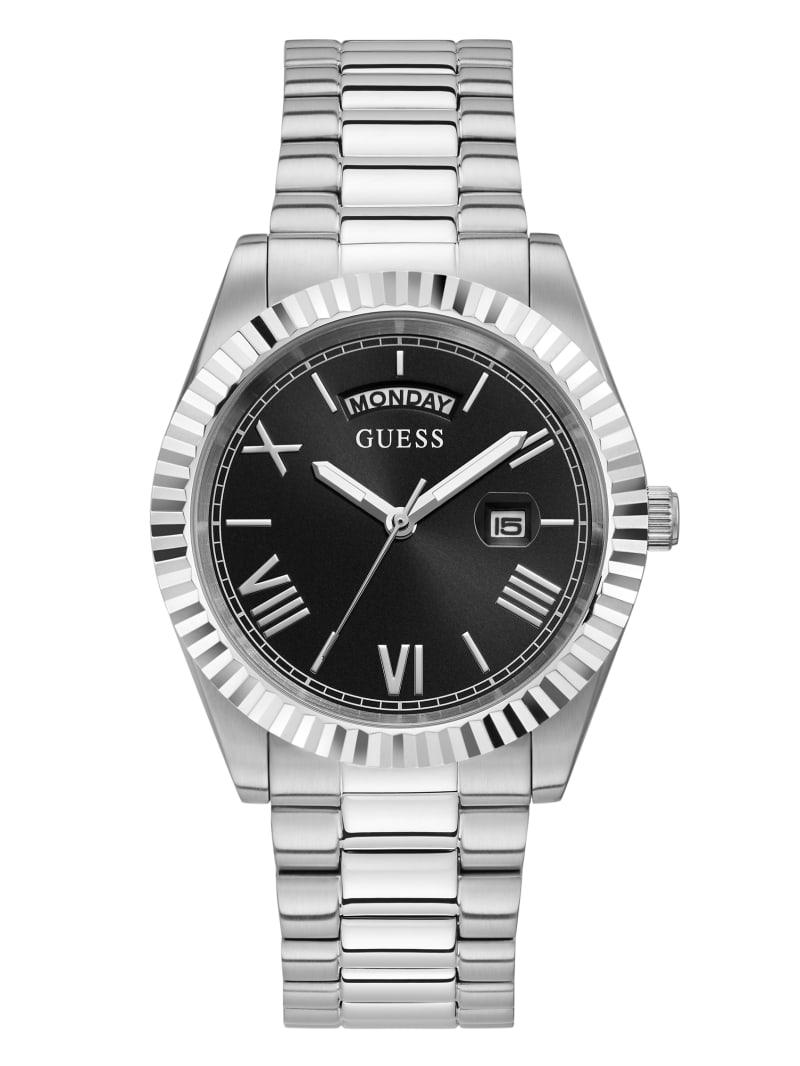 Silver-Tone Analog Watch