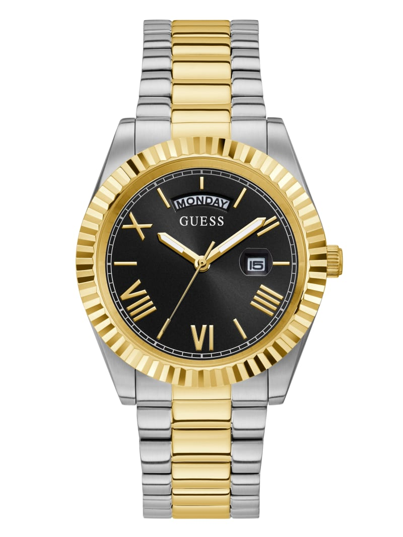 Connoisseur Two-Tone Analog Watch