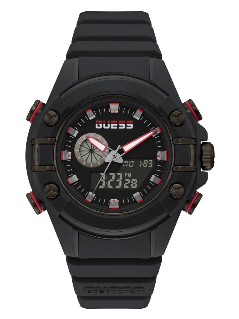 G Force Black Digital Watch