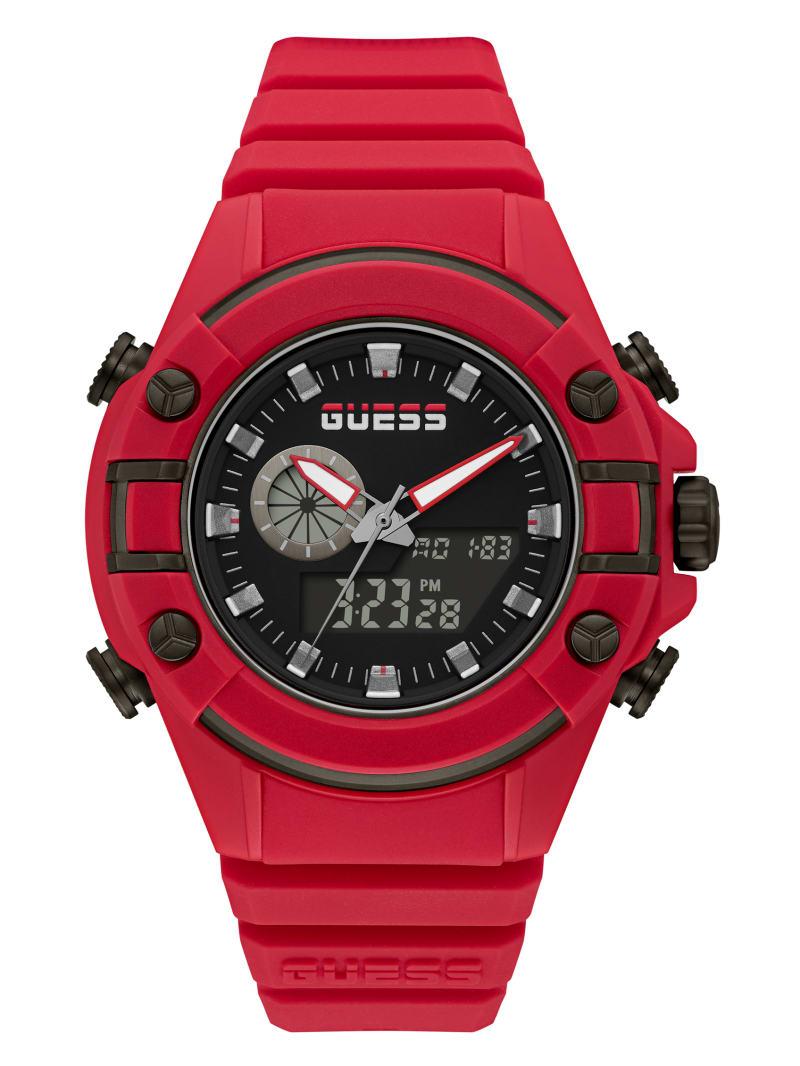 G Force Red Digital Watch
